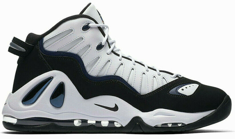 NIKE AIR MAX UPTEMPO 97 WHITE/BLACK SIZE 10.5 NEW FAST SHIPPING (399207-101) image 3