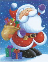 Peter Glover Santa Christmas Toy Bag 100 pc Bagged Boxless Jigsaw Puzzle - $9.00
