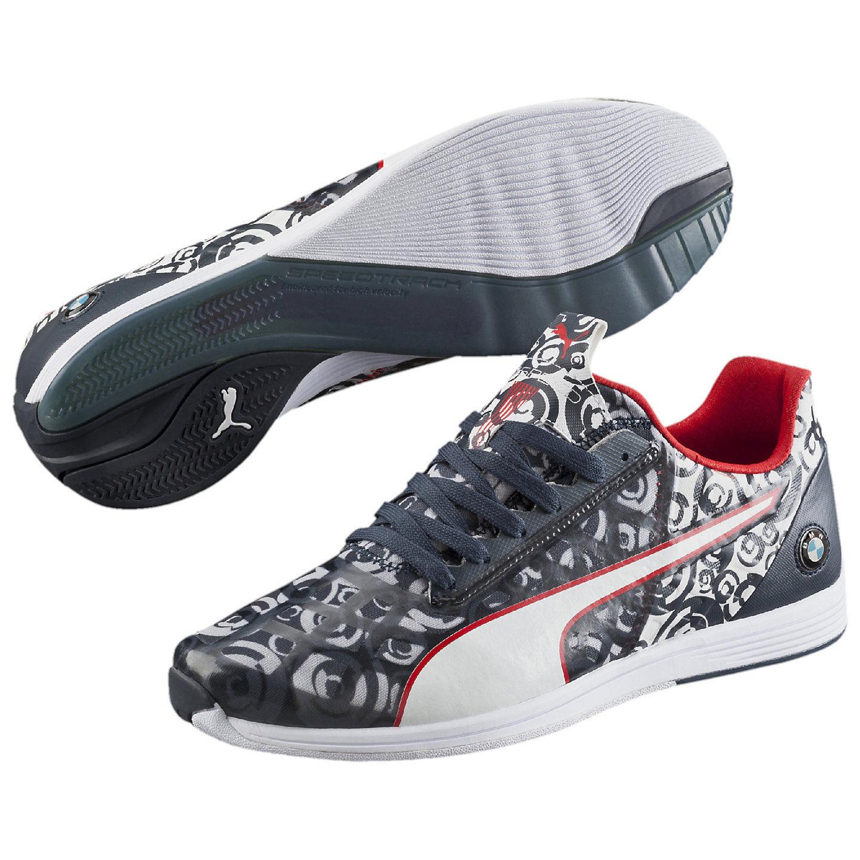Men's PUMA BMW EVOSPEED 1.4 CAMO Casual Shoes, 305487 01 Sizes 8-11 bmw team bl