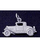 NICE Ford model A Car Pendant Sterling Silver .925 Charm - $15.42