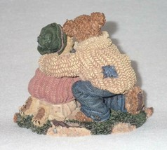 Boyd Bearstone Resin Bears Stephanie John & George Figurine #228348 1E image 2