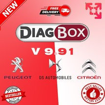 Diagbox V9.91 VM Car Diagnostic Tool For Citroen/Peogeot Until 2021 VERS... - $9.99