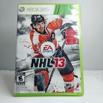 NHL 13 Microsoft Xbox 360 2012 Complete Free Shipping - $7.67