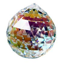 Swarovski 40mm Crystal Faceted Ball Prism image 1