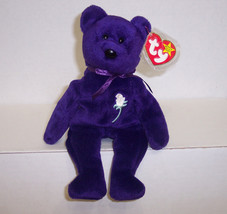 "1997 TY Beanie Babies "" Princess"" : PE Pellets : China Made : No Space {... - $42.97"
