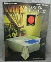 Hardanger Embroidery Leisure Arts 108 Marion Scoular needlework booklet  - $7.59