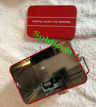 Coke Coca Cola Collection Aluminum Tin Tank Cans Music Box + Quartz desk Clock image 9