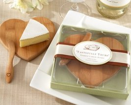 Tastefully Yours' Heart-Shaped Bamboo Cheese Board - $92.64