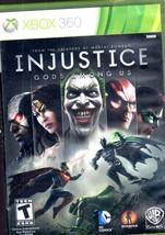 Injustice God's Among Us - Xbox 360 - $9.95