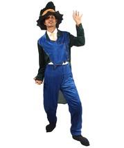Adult Men's Wizard Costume | Black & Blue Cosplay Costume - $46.85