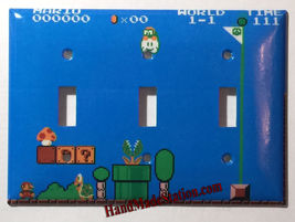 Super Mario brothers Games 8 bit Light Switch Outlet Wall Cover Plate Home Decor image 8