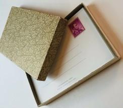 Post A Note Current Set 22 Original Box Flowers Cards 4 Cent Stamp Box V... - $18.10