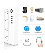 Smart Wifi Power Strip Surge Protector - $64.86