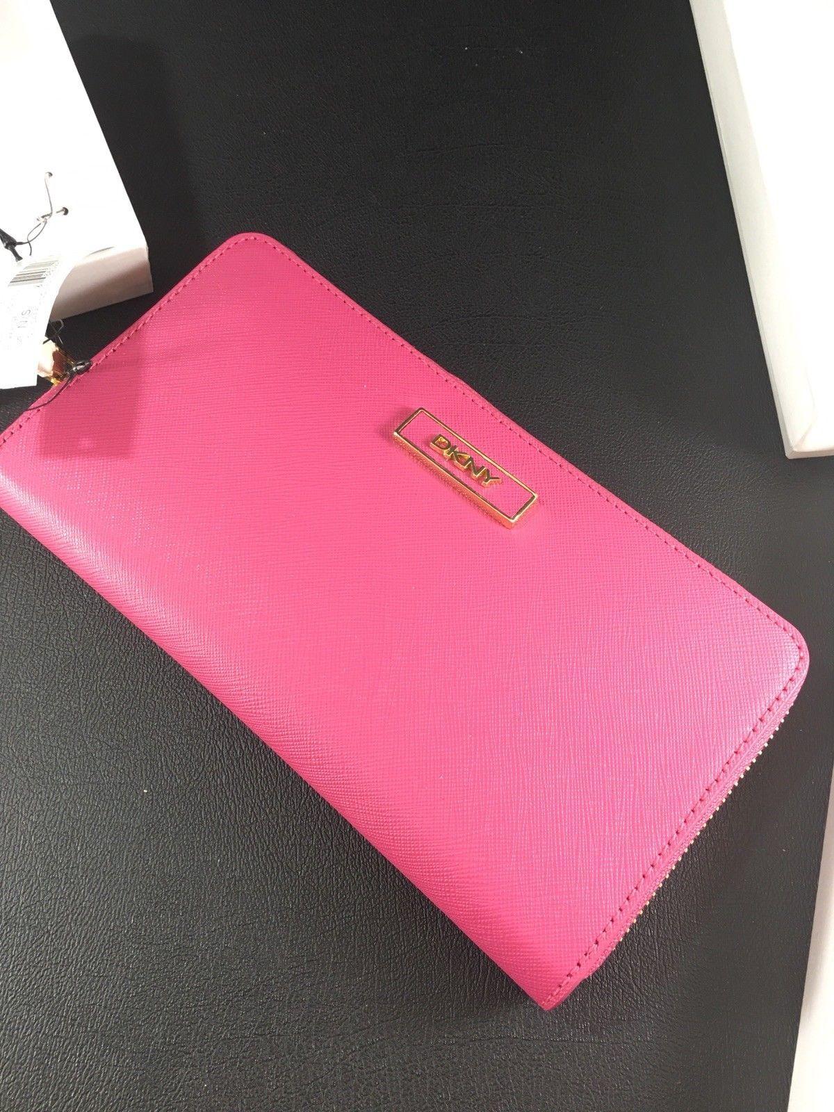 d042daf08 NWT New DKNY Donna Karan Zip Around Wallet and 11 similar items
