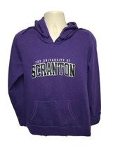Champion The University of Scranton Womens Purple 2XL Hoodie Sweatshirt - $43.99