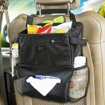 Zone Tech Car Auto Seat Back Organizer Litter Trash Bag Storage Holder T... - $8.99