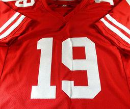 DEEBO SAMUEL / AUTOGRAPHED SAN FRANCISCO 49ERS RED CUSTOM FOOTBALL JERSEY / JSA image 2
