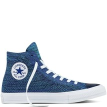 Converse Chuck Taylor All Star Flyknit Blue/Aqua original Trainers - $124.64