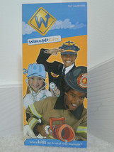 Wannado City Brochure Map and Guide Sunrise FLORIDA Theme Park Vintage S... - $19.99