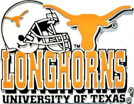 Texas Longhorns Helmet Fridge Magnet - $6.00