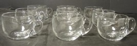 Eight Heisey Crystal Punch Cups * Signed - $5.32