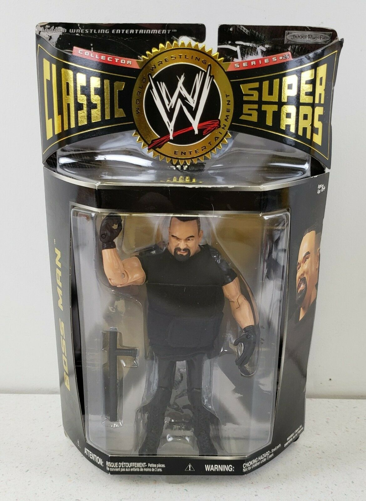Primary image for Boss Man WWE Jakks 2009 Classic Superstars #25 Collector Series NIP