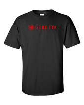 Beretta Script Red Logo T Shirt 2nd Amendment Pro Gun Rights Rifle Pisto... - $17.09+