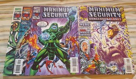 Maximum Security #1-3 (Complete Mini-Series) & Dangerous Planet #1 - $12.00