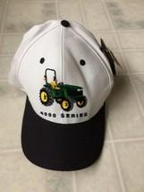 New! John Deere Green Embroidered Logo 4000 Series Tractor Adjustable Ba... - $17.59
