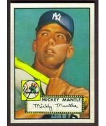 MICKEY MANTLE Rookie Card RP #311 Yankees RC 1952 T 1 Free Shipping - $2.95