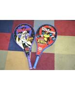 Vintage 1996 Marvel X-Men STORM & WOLVERINE Comic Wilson Tennis Racquet ... - $41.71