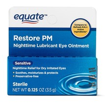 Equate Sensitive Nighttime Lubricant Eye Ointment, 0.125 oz - $13.59