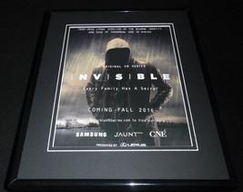 Invisible 2016 Samsung VR Framed 11x14 ORIGINAL Advertisement - $32.36