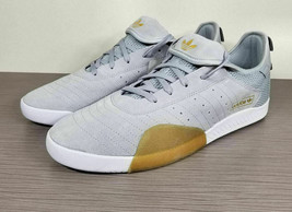 adidas 3ST.003 Grey & White Suede Shoes, Mens Various Sizes - £36.12 GBP