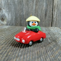 Vintage Polar Sport Penguin Car Roadster Hallmark Christmas Ornament 1990 - $29.99