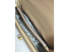 NWT Michael Kors Kinsley Medium top handle satchel Bisque beige shoulder... - $136.62