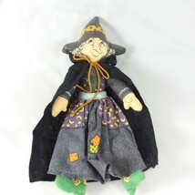 Vintage Hallmark WITCH Fabric Doll Collectible EUC - $13.06