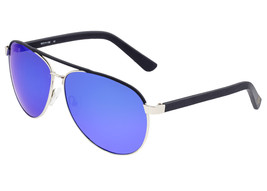 Sixty One Wreck Polarized Sunglasses - Silver/Blue - $215.00