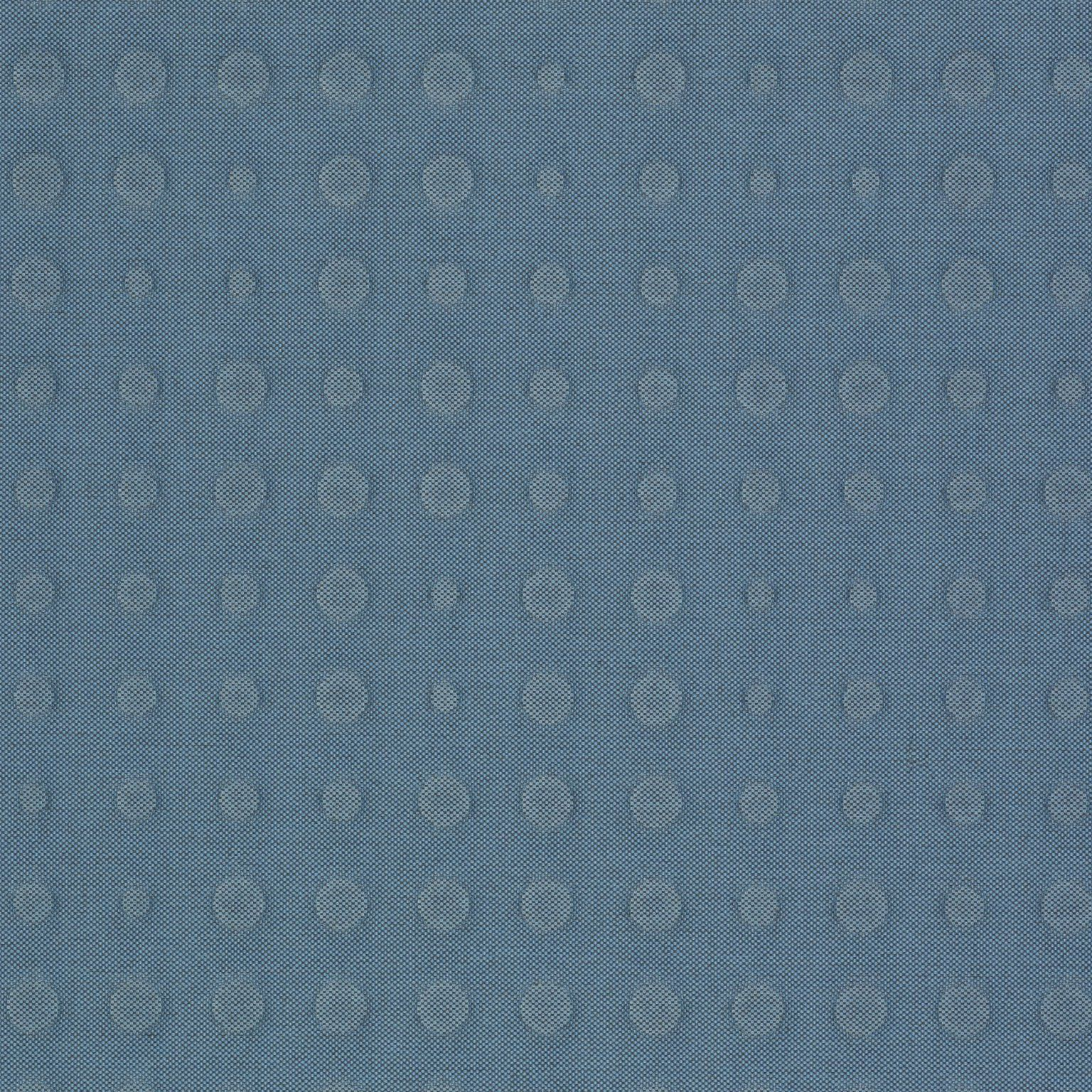 Kvadrat Upholstery Fabric Highfield Sky Blue Quilted Dots 3.375 yards 724 CI