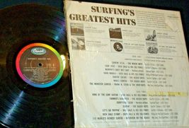 Surfing's Greatest Hits Capitol Record T1995 AA-192005 Collectible image 3