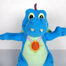 "Dragon Tales Flying Ord 7"" Stuffed Animal Toy Playskool Blue 1999 Vintage Plush - $26.72"