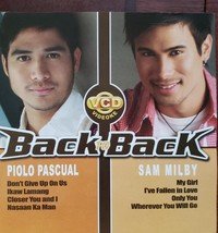 Piolo Pascual Back to Back with Sam Milby Philippine/Tagalog CD - $7.95