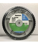 "Arnold 14"" Plastic Mower Wheel Universal Application 50 Pounds - $24.71"