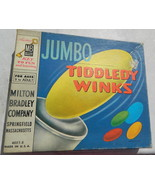 Jumbo Tiddely Winks  Vintage 1963 MB  Game - $12.00