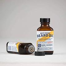 Duke Cannon Beard Bundle: Best Beard Oil, 3oz + Beard Balm, 1.6oz / Made with Na image 5