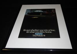 1986 Honda Prelude 11x14 Framed ORIGINAL Vintage Advertisement - $32.36