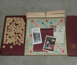 Vintage Selchow & Righter Vintage Scrabble Board Game Complete Fast Ship - $12.16