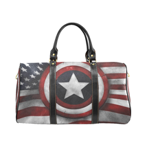 Captain American Eagle USA Red white Blue Travel Bag Gym Bag Spring Summ... - $172.20 CAD