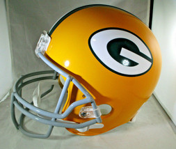 BART STARR / AUTOGRAPHED FULL SIZE GREEN BAY PACKERS THROWBACK HELMET / STEINER image 2