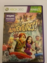 Kinect Adventures Microsoft Xbox 360 Video Game - $4.40